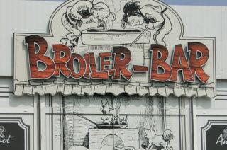 Eingang zur Broiler-Bar in Sassnitz
