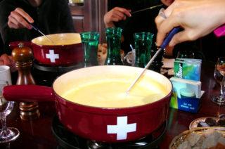 Züricher Käsefondue
