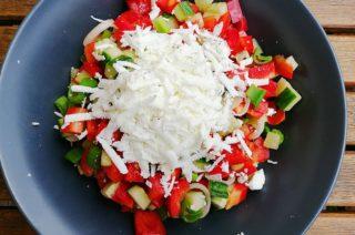 Schopska-Salat (Bulgarien)