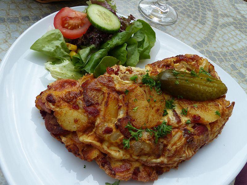 Bauernfrühstück, Ratscafe in Görlitz (Sachsen)