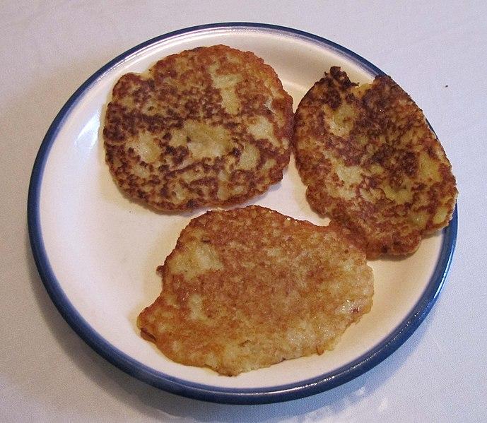 Klitscher (Erzgebirgische Kartoffelpuffer)