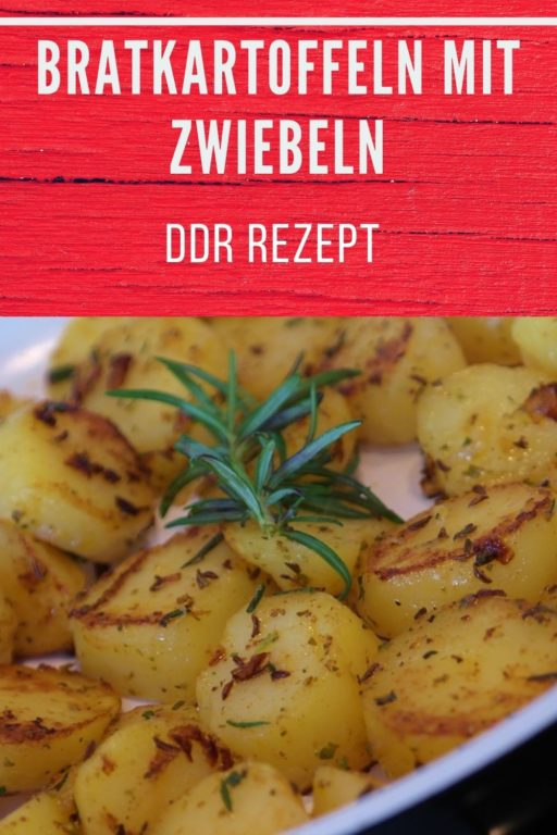 Bratkartoffeln mit Zwiebeln