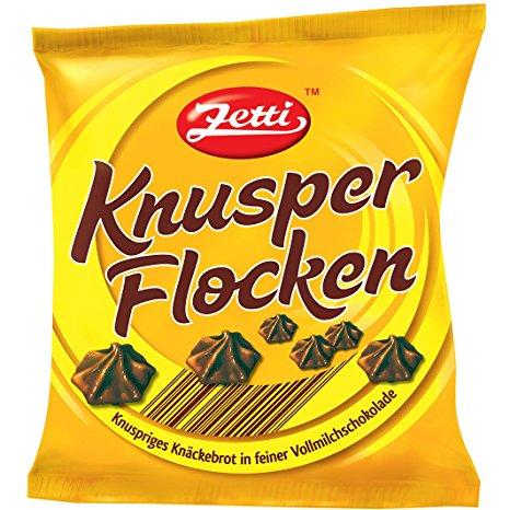 Knusperflocken-Quark-Speise mit Johannisbeeren