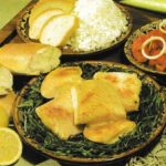 Bulgarischer Porreefisch mit Knoblauch