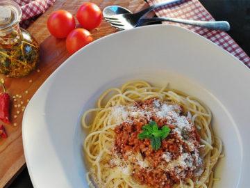 Spaghetti Bologneser Art (Italien)